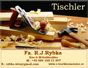 Tischlerei Robert Rybka – Tischlermeister Wien seit 25 Jahren